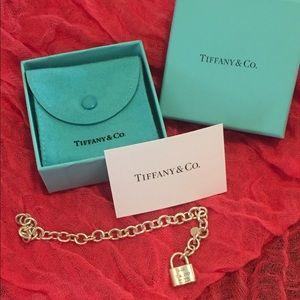 Tiffany & Co Sterling Silver Lock Bracelet